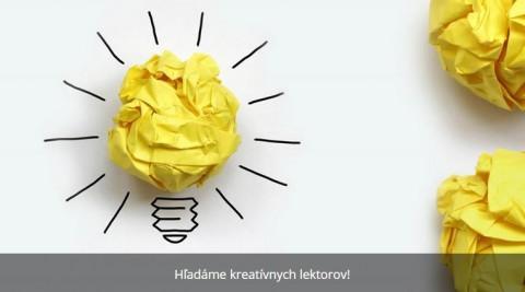 Creative-ziarovka z papiera s napisom