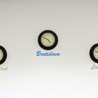 V učebni London nikdy nestratíte prehľad o čase. :)